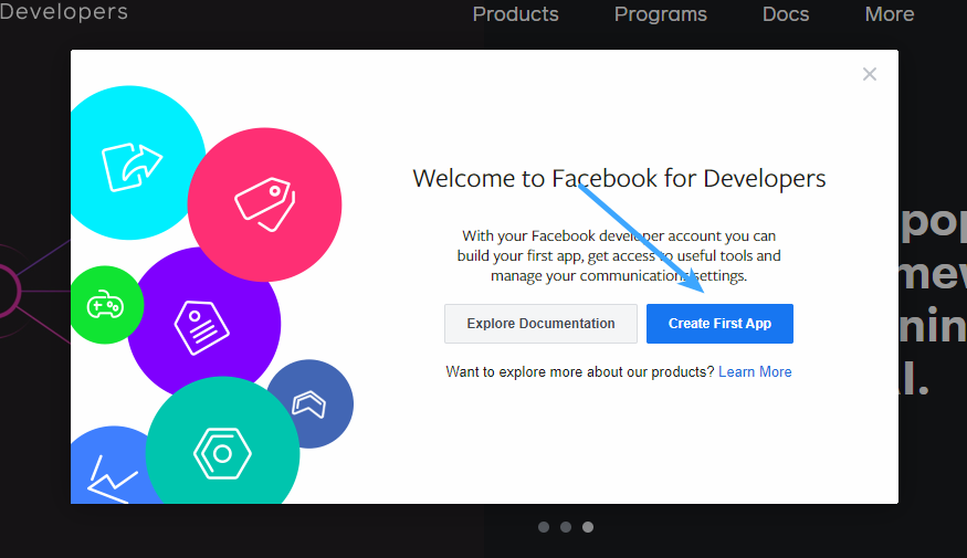 Facebook Login - Create First App