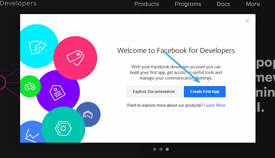 Facebook Login - Create First App