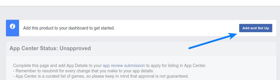 Facebook Login - App Details Setup