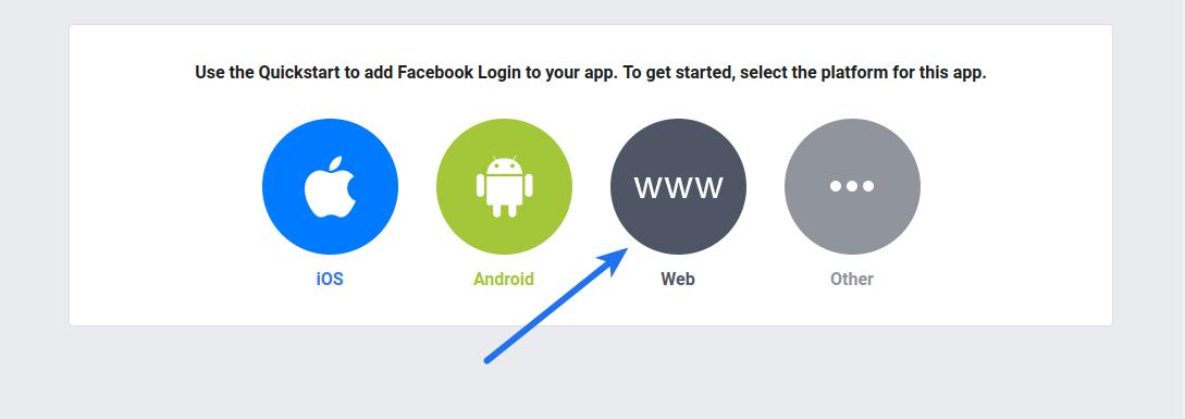 Facebook Login Web