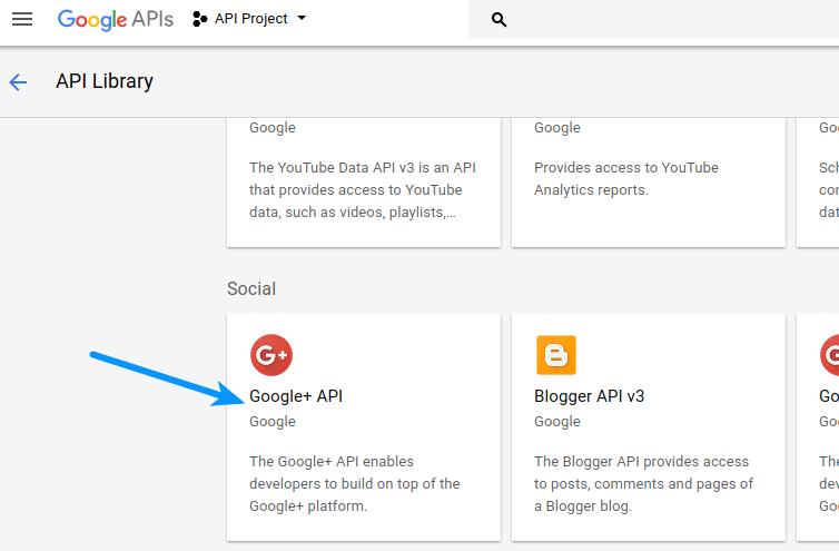 Google Login - GooglePlus API