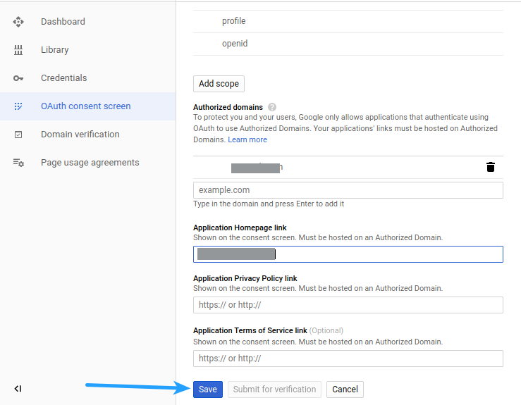 Google Login Oauth Consent Screen 2