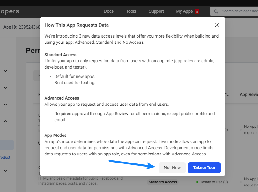 How this App Requests Data