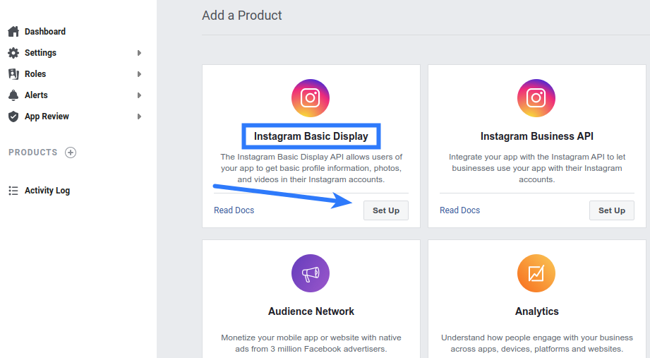 Instagram Login - Basic Display API