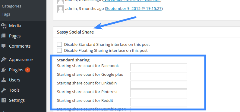 Share Count - Initial Share Count