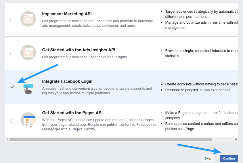 How to enable Facebook Login by Creating Facebook App