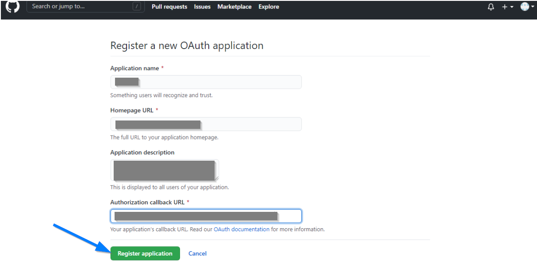 Github Client ID - Github Application Settings