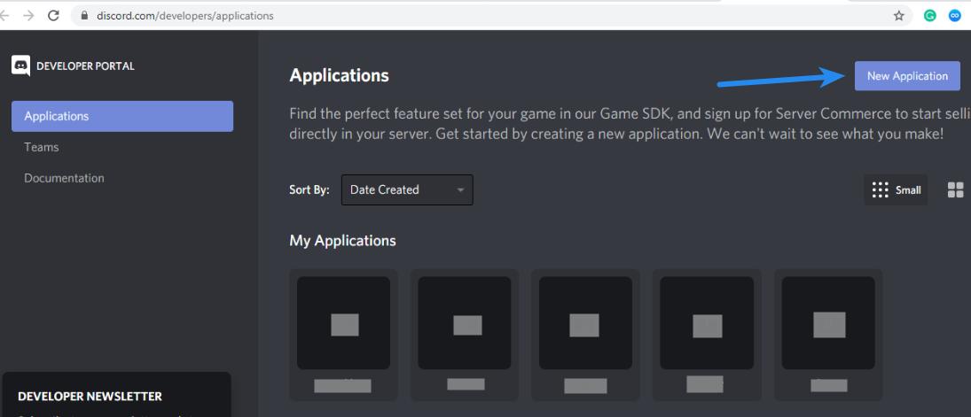 Discord Client ID - Discord Developer Console