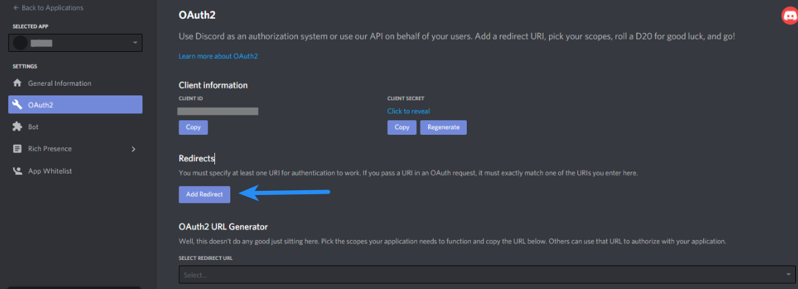 Discord Client ID - Discord Oauth